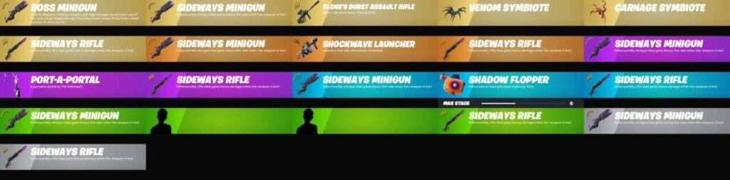 Fortnite Chapter 2 Season 8 New Weapons