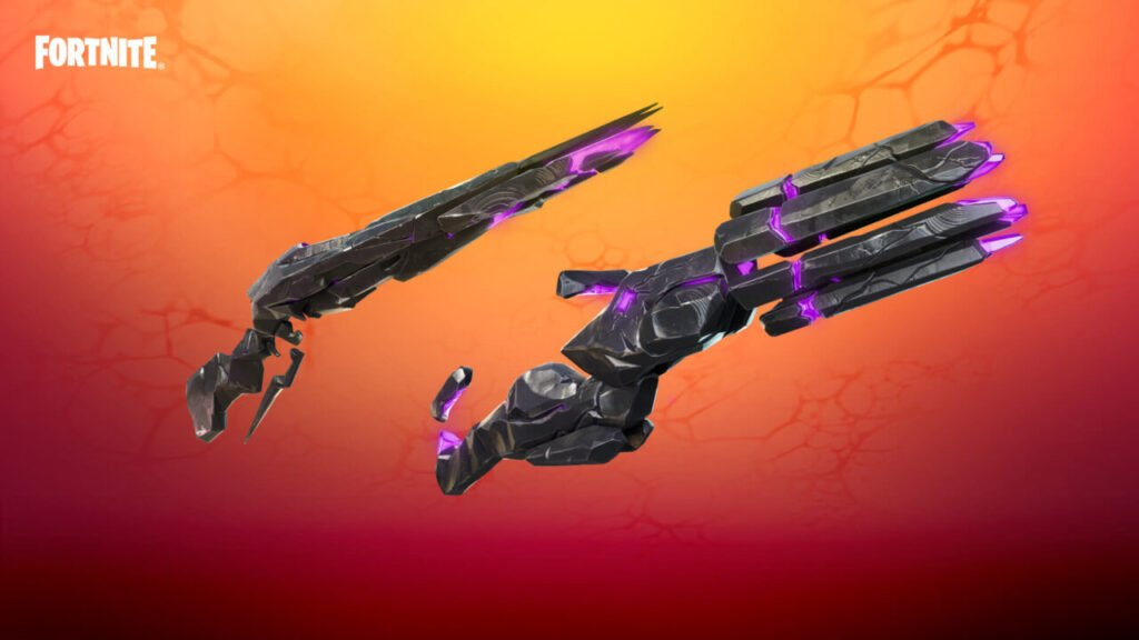 Fortnite Chapter 2 Season 8 Sideways Rifle and Minigun Key Art