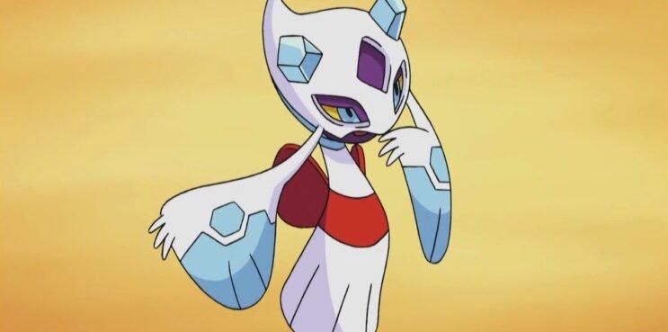 Froslass in the Pokemon anime