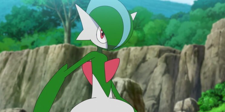 Gallade in the Pokemon Anime