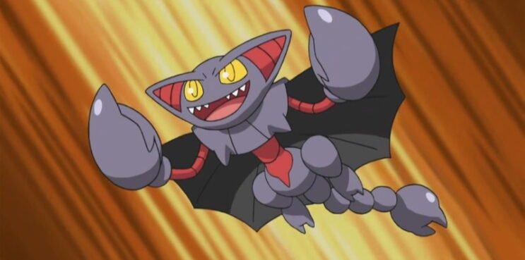 Gliscor in the Pokemon Anime