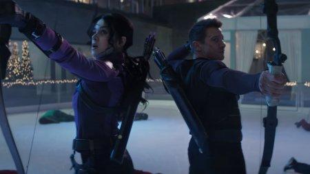 Hawkeye and Kate Bishop