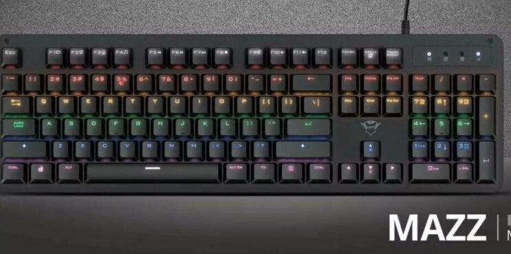 Trust GXT 863 MAZZ Mechanical Keyboard