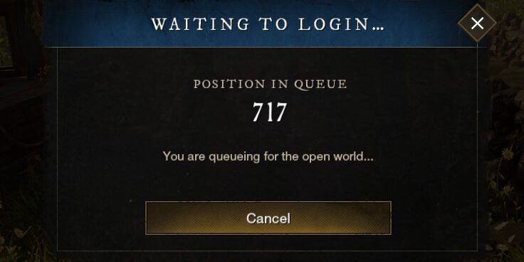 New World Position In Queue