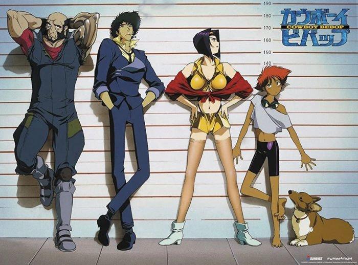 The Original Cowboy Bebop Main Characters