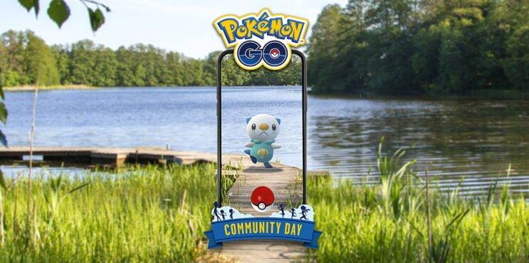 Pokemon Go Oshawott community day 2021