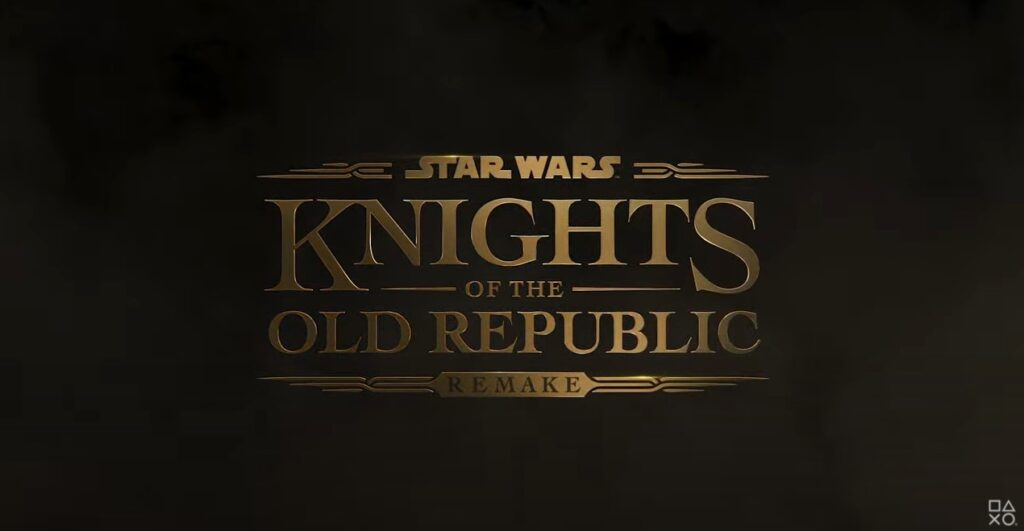 Star Wars Knights Of The Old Republic Remake Official Reveal Art