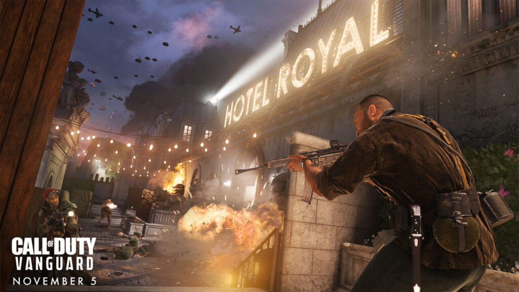 Call of Duty Vanguard Hotel Royal Combat Pacing