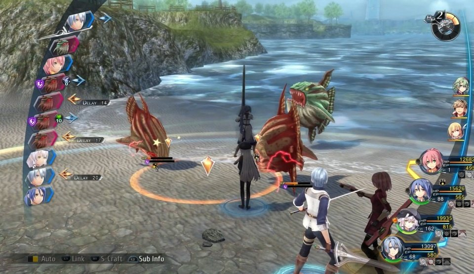 cold steel 4 gameplay