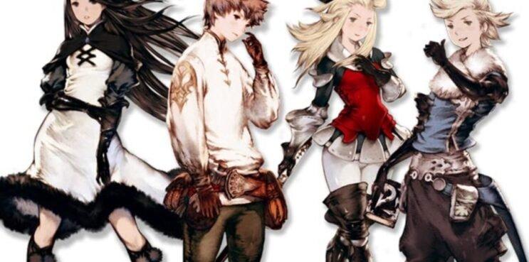 bravely default protagonists