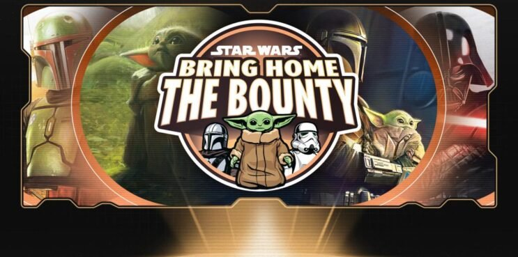 Bring home the bounty banner used in new star wars game piece